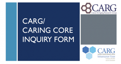 CARG/CARinG Core Inquiry Form